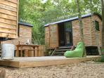 All 4 cabins for you - as 1 unit