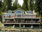 Grand lakefront home w/ stunning lake views & wrap-around deck!