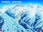 ROHACE SPALENA ski resort- mountains HIGH Tatras