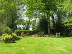 Barbecue and garden for Bishops Well