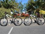 2 bicicletas totalmente gratuitas.