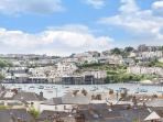 Ocean Blue has the most amazing views to Falmouth from the terraced garden