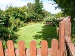Private garden for Mill Cottage, ideal for BBQ's & admiring the view.