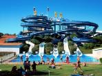 Aqualand Water Park around 35 minute drive