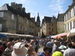 Saturday market in Sarlat