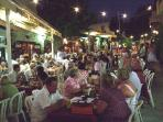 Cyprus Night in the Market Square, Pissouri