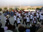 The Band of the Parachute Regiment in Pissouri Amphitheatre