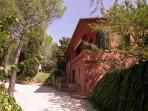 Luxury villa cottage rental in Perugia by owners external view