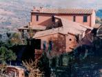 The charming Villa nuba vacation rentals apartments in Perugia, External view