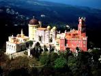 Pena Palace, Sintra 70Km away