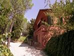 The charming Villa Nuba apartments rental in Umbria, an external view