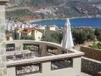 Main Bedroom Balcony & View Of Kalkan