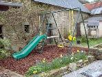 Play Area and Wishing Well