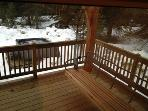 Blaeberry Gorge Alpine Ranch: A mountain sanctuary....wraparound deck leading to private hot tub