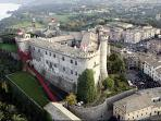 The Castle Orsini Odescalchi by  Bracciano where Tom Cruise got married