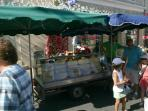 Local weekly market a must for all our guests