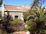 Front of sun villa