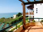 Gilmafacho balcony with sea view