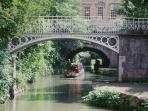 Sydney Gardens and the Kennet and Avon canal, only a couple of minutes walk away.  Bath Tourism Plus