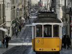 Lisbon tram - 20-30min by train