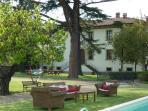 Fattoria di Baciano: magnificent villa in Capaolona region of Tuscany, set on stunning grounds with private pool and jacuzzi