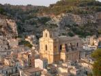 Scicli (Unesco's), 4 km's away