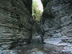 Gorge in the nearby river - Stretti di Giaredo