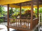 Bali Style Gazebo in front yard