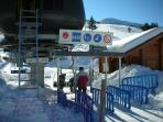 Ski lifts in January -  one hour from the Villa