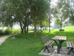 passeggiata Lago Serraia