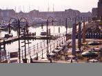 The marina - just a few minues walk away