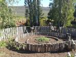Labyrinth in the back garden