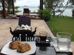 Votre petit déjeuner chez Villa Eva
