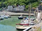 PORLOCK WEIR- 20 MIN DRIVE BUT GOOD DAY OUT - NICE PUB & HARBOUR - CRAB FISHING!!!
