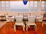 Dining Area with Direct Sea Views