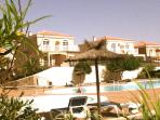 3 bed villa, shared pools, wifi, UK TV. Discounts for May stays over 7 nts.