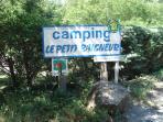 Entrée camping