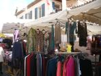 Market day in Cros-de-Cagnes