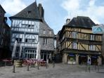 Dinan's medieval historic centre
