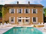 Manoir Seguinet with 12 by 5m heated swimming pool