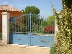 Secure, gated villa