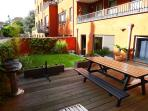 Spacious private garden + terrace (70 m²)