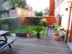 Spacious private garden + terrace (70 m²)
