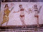 Romanic mosaic - Villa del Casale