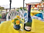 Lake view terrace restaurant