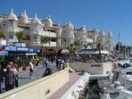 Puerto Marina, Benalmádena - a 10 minute or less easy walk away from the apartment
