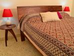 Classically furnished bedroom