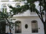 Original French Antique Building