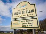 Bridge of Allan -  Best Scottish Small Town 2010, 2011 & runner up 2012