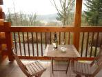 One of the inviting verandahs